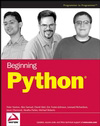 book cover thumbnail image of Beginning Python