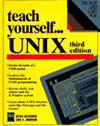 alternate book cover thumbnail image of Teach Yourself Unix, 3rd Edition
